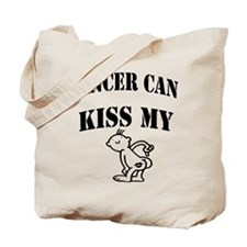 Cancer Can Kiss My......Tote Bag