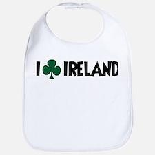 I Shamrock Ireland Bib
