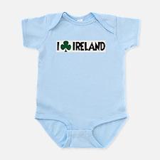 I Shamrock Ireland Infant Creeper