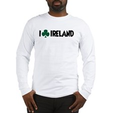 I Shamrock Ireland Long Sleeve T-Shirt