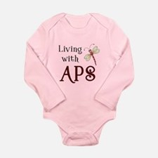 Living with APS - Dragonfly Long Sleeve Infant Bod
