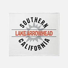 Lake Arrowhead California Throw Blanket