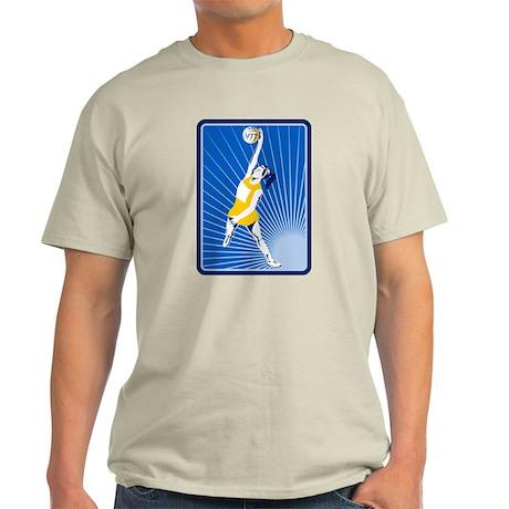 netball player Light T-Shirt