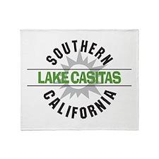 Lake Casitas California Throw Blanket