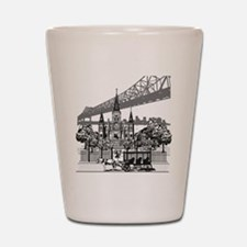 New Orleans Shot Glass