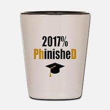 2017 PhD Shot Glass