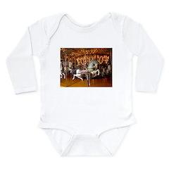 Ernie the Sock Monkey Long Sleeve Infant Bodysuit