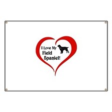 Field Spaniel Banner
