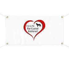 Flat-Coated Retriever Banner