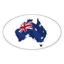 Australian Map Decal
