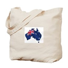 Australian Map Tote Bag
