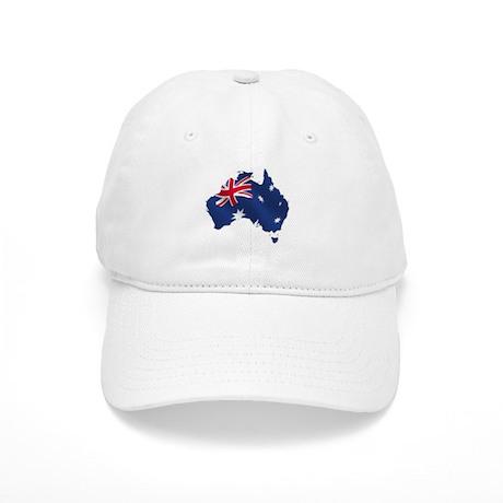 Australian Map Cap