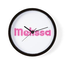 """Melissa"" Wall Clock"
