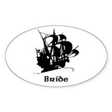 Pirate Ship Bride Decal