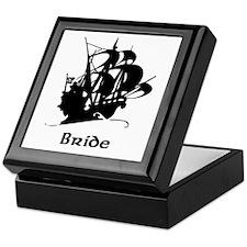Pirate Ship Bride Keepsake Box