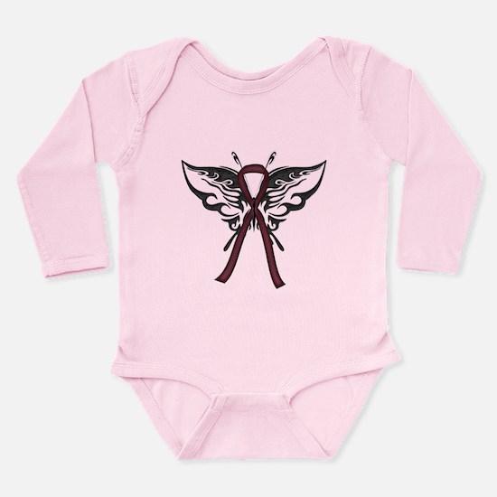 Tribal Butterfly Long Sleeve Infant Bodysuit