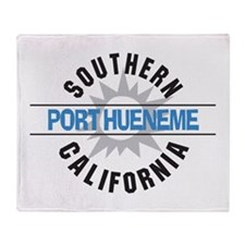 Port Hueneme California Throw Blanket