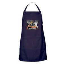 Ride For a Cure Lung Cancer Apron (dark)