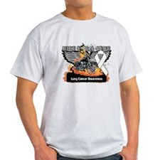 Ride For a Cure Lung Cancer T-Shirt