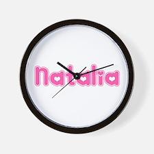 """Natalia"" Wall Clock"