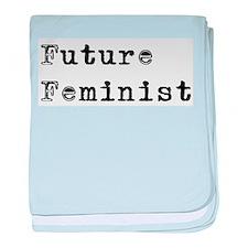 Future Feminist Infant Blanket