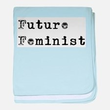 Future Feminist Infant Blanket
