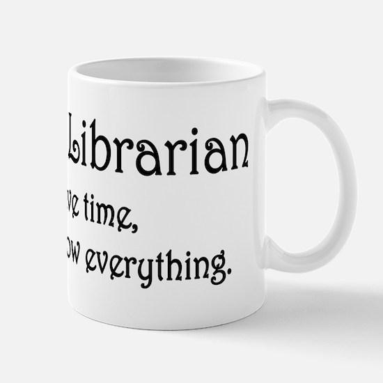 I am the Librarian Mug