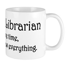 I am the Librarian Mug