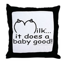 Cute Mothersucker Throw Pillow
