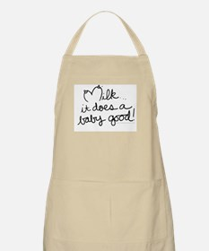 It Does A baby Good BBQ Apron