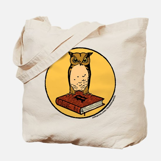 Bibliophile Seal Tote Bag