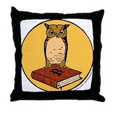 Bibliophile Seal Throw Pillow