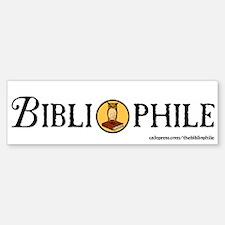 Bibliophile Seal Bumper Bumper Sticker