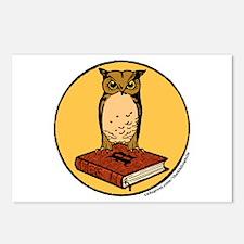Bibliophile Seal Postcards (Package of 8)
