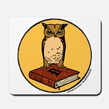 Bibliophile Seal Mousepad