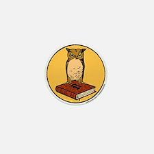 Bibliophile Seal Mini Button