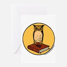 Bibliophile Seal Greeting Card