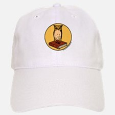 Bibliophile Seal Baseball Baseball Cap