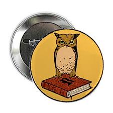 """Bibliophile Seal 2.25"""" Button"""