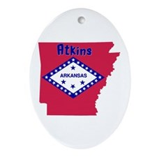 Atkins Ornament (Oval)