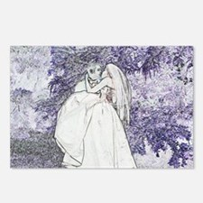 """""""Storybook Couple #1"""" Postcards (Package of 8)"""