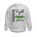 WarriorNonHodgkinsLymphoma Kids Sweatshirt