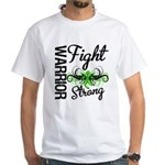 WarriorNonHodgkinsLymphoma White T-Shirt