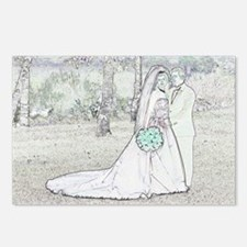 """""""Storybook Couple #8"""" Postcards (Package of 8)"""