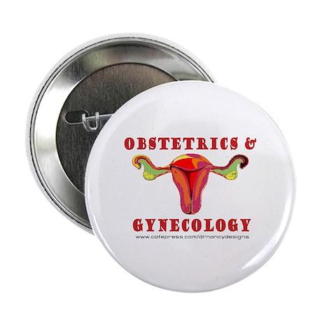 """Obstetrics & Gynecology 2.25"""" Button"""