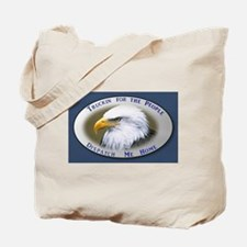 Unique Eagle design Tote Bag