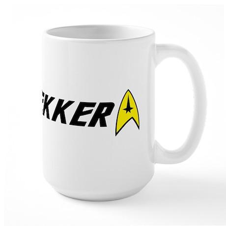 Trekker Command Insignia Large Mug