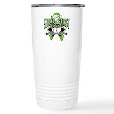 Take a Strike NonHodgkins Travel Mug