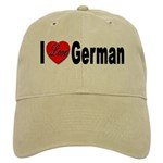 I Love German Cap