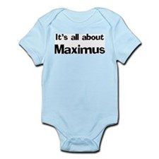 It's all about Maximus Infant Creeper